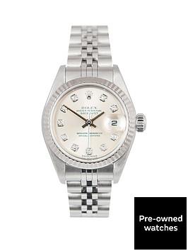 rolex-rolex-datejust-original-new-set-silver-diamond-26mm-dial-stainless-steel-ladies-watch-2003-pre-own