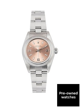 rolex-rolex-oyster-perpetual-salmon-3-6-and-9-24mm-dial-stainless-steel-ladies-watch-including-paperwork