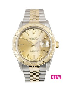 rolex-rolex-bimetal-datejust-turnograph-champagne-36mm-dial-steel-amp-18k-yellow-gold-men039s-watch-including