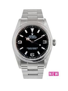 rolex-rolex-explorer-i-black-3-6-amp-9-36mm-dial-stainless-steel-oyster-bracelet-men039s-watch-2002-pre-own