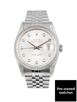 rolex-rolex-datejust-original-new-set-silver-diamond-36mm-dial-stainless-steel-men039s-watch-1996-pre-owne