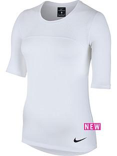 nike-pro-hypercool-short-sleeved-top-whitenbsp