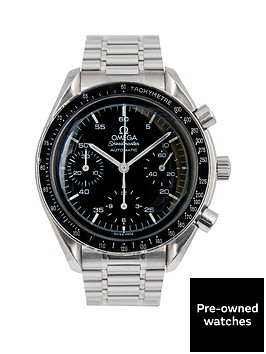 omega-omega-speedmaster-39mm-dial-stainless-steel-men039s-watch-1995-pre-owned