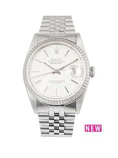 rolex-rolex-datejust-original-silver-linen-effect-36mm-dial-stainless-steel-men039s-watch-1989-pre-owned