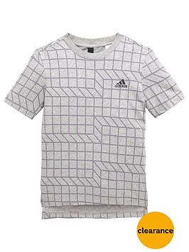 adidas-older-boys-pattern-tee