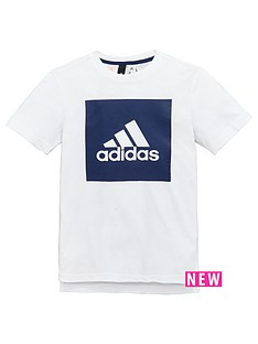 adidas-older-boys-logo-panel-tee