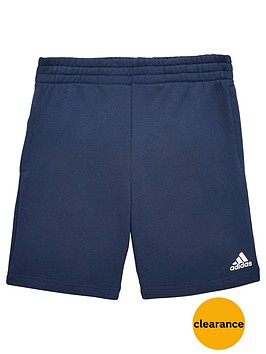 adidas-older-boys-logo-short