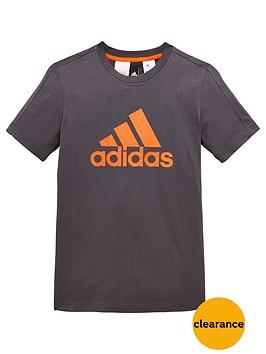 adidas-older-boys-logo-tee