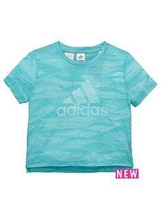 adidas-older-girls-aeroknit-tee