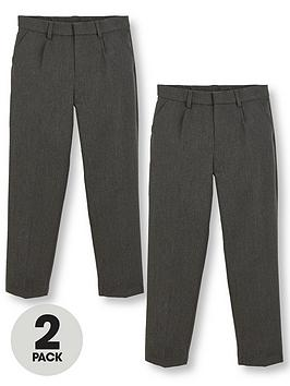 v-by-very-boys-2-pack-classic-woven-school-trousers