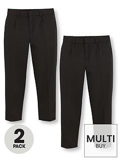 v-by-very-schoolwearnbspboys-classic-woven-plus-fit-school-trousers-blacknbsp2-pack