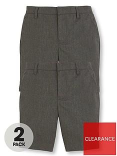 v-by-very-boys-2-packnbspschool-shorts-grey