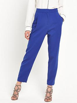 selected-femme-cropped-pant-mazarine-blue
