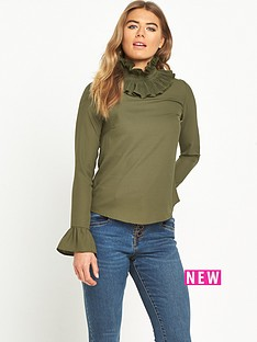 lost-ink-pleat-neck-top