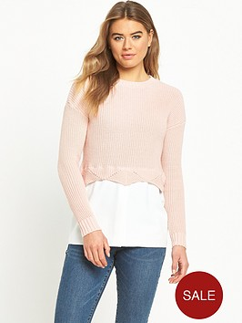 lost-ink-the-scallop-hem-2-in-1-jumper-pink