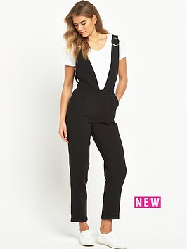lost-ink-lost-ink-tailored-low-cut-v-neck-jumpsuit
