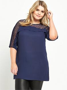 so-fabulous-lace-amp-frill-yoke-tunic-navy