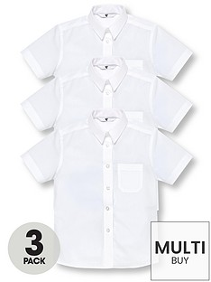 v-by-very-schoolwear-girls-short-sleeve-school-blouses-white-3-pack