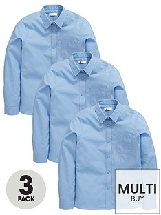 v-by-very-schoolwear-girls-long-sleeve-school-blouses-blue-3-pack