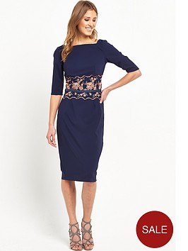 little-mistress-little-mistress-embroidered-midi-with-belt
