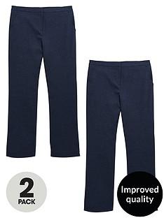 v-by-very-schoolwear-girls-woven-plus-fit-school-trousers-navynbsp2-pack