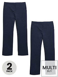 v-by-very-schoolwear-girls-woven-plus-fit-school-trousers-navynbsp2-pack