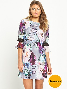 little-mistress-floral-shift-dress-with-crochet-trim-sleeves