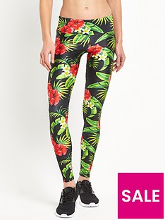 goldsheep-tropical-floral-yoga-legging