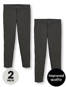 v-by-very-schoolwear-boys-2pk-slim-fit-trousers