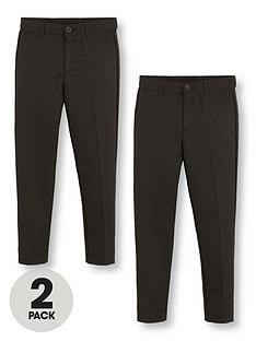 v-by-very-boys-2-pack-slim-school-trousers-black