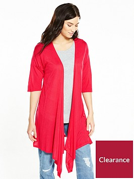 v-by-very-drape-front-lightweight-waterfall-cardigan-raspberry
