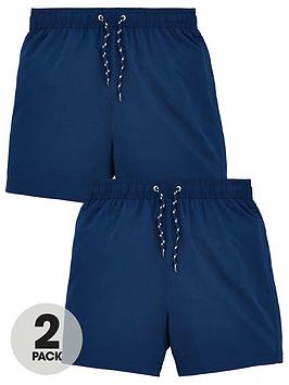 v-by-very-boys-2-pack-basic-swim-shorts