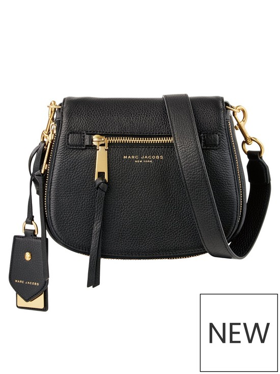 ac0ade772e45 MARC JACOBS Recruit Small Nomad - Black