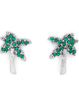 marc-jacobs-tropical-strass-palm-tree-studs-green