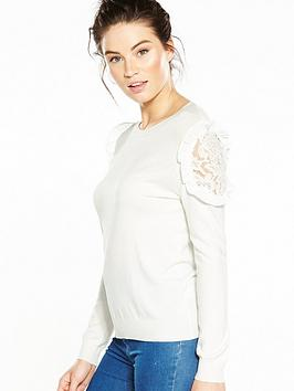 v-by-very-lace-frill-shoulder-jumper