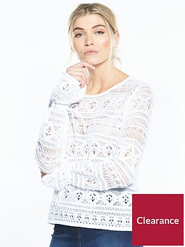 v-by-very-crochet-tie-cuff-jumper