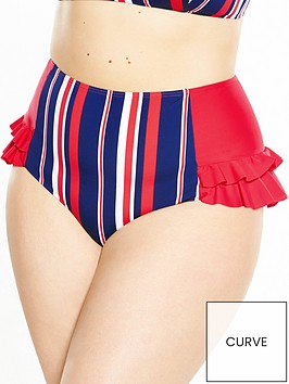 lovedrobe-body-control-stripe-high-waist-bikini-brief