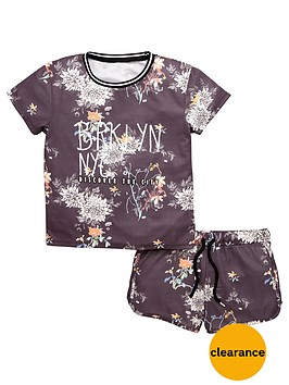 v-by-very-girls-floral-sports-t-shirt-and-shorts-set