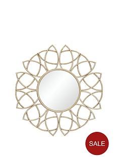 elegant-round-wall-mirror