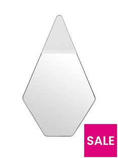 ideal-home-hexagonal-wall-mirror