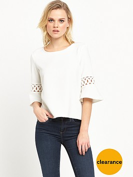 river-island-umbrella-sleeve-top-white
