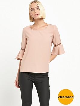 river-island-pink-umbrella-sleeve-top
