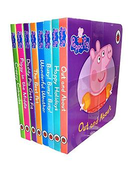 peppa-pig-peppa-pig-children039s-picture-flat-8-board-books-set