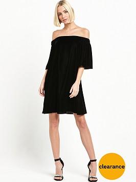 river-island-velvet-bardot-dress