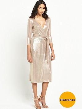 river-island-metallic-wrap-midi-dress