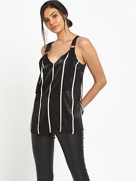 river-island-river-island-stripe-sleeveless-d-ring-top