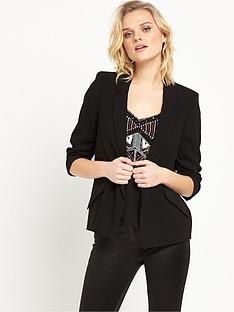 river-island-button-down-blazer-black