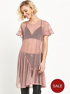 river-island-mesh-frill-smock-dress-light-pink