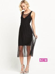 river-island-layered-mesh-midi-dress-black