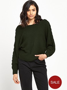 river-island-tie-sleeve-jumper